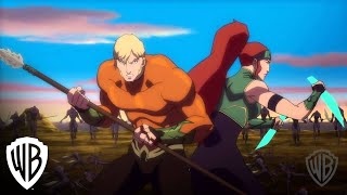 Nonton Justice League  Throne Of Atlantis Trencher Fight Film Subtitle Indonesia Streaming Movie Download