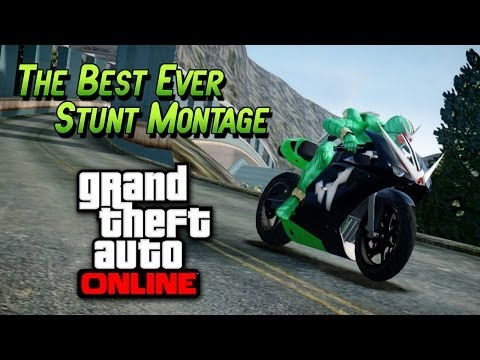 montage - GTA 5 Stunts - Awesome Stunt Montage - Best Stunt Montage In GTA 5 Online ! (GTA 5 Stunts)
