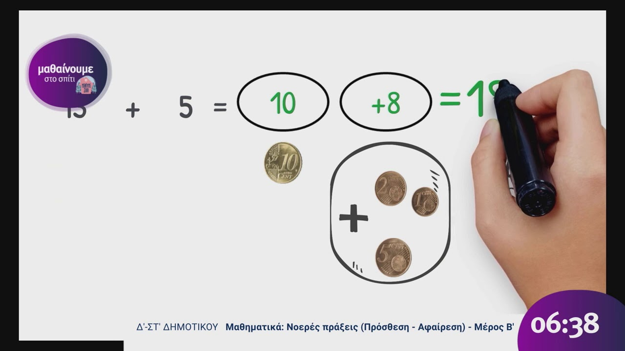 Μαθαίνουμε στο Σπίτι  Μαθηματικά Β' – ΣΤ'  Νοερές πράξεις(Πρόσθεση – Αφαίρεση) Β΄ Μέρος  02/04/20