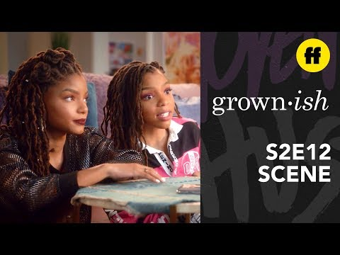 grown-ish Season 2, Episode 12 | Nomi & The Twins Disagree About Zoey's Situationships | Freeform