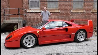 Video Here's Why the Ferrari F40 Is Worth $1.3 Million MP3, 3GP, MP4, WEBM, AVI, FLV Mei 2018