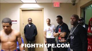 Video FLOYD MAYWEATHER BEHIND-THE-SCENES GIVING GERVONTA DAVIS FINAL INSTRUCTIONS RIGHT BEFORE FIGHT MP3, 3GP, MP4, WEBM, AVI, FLV Februari 2019