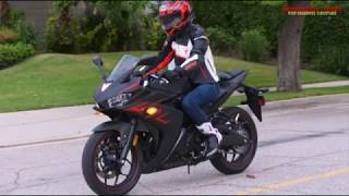5. Motorcycle-2018 Yamaha YZF R3 Review! it good..