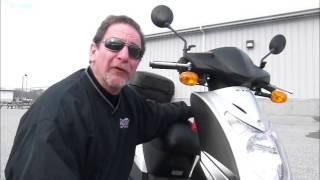 4. 2009 Kymco Agility 50 Stock #9-2011@ Diamond Motor Sports