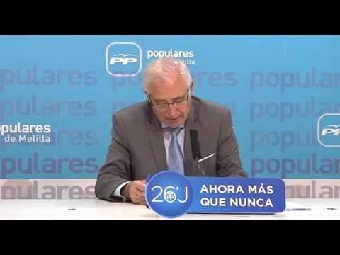 Imbroda destaca el aumento de votos al PP el 26-J, en relación con el 20D