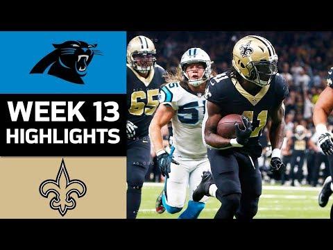 Video: Panthers vs. Saints | NFL Week 13 Game Highlights
