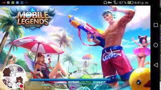 Mírame jugar Mobile Legends.