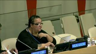 Noelene Nabulivou's as moderate at the 2nd Meeting HLPF 2014: http://webtv.un.org
