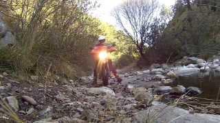 8. KTM 950 Supermoto, off road ACTION !!!