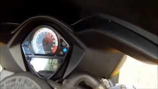 10. Suzuki 2004 SV650s 0-60, 0-100 MPH / 0-160 KMH acceleration
