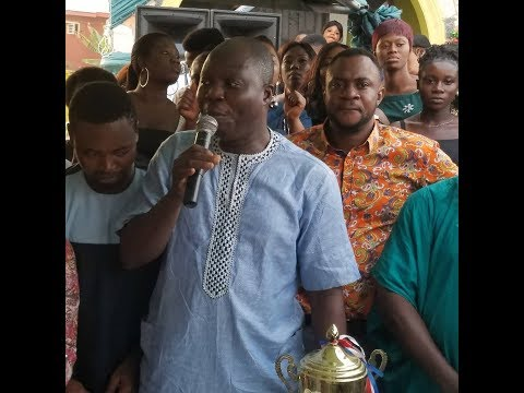 Download See How Odunlade Adekola introduce His Boss, Mr Latin that got Everyone laughing at his party