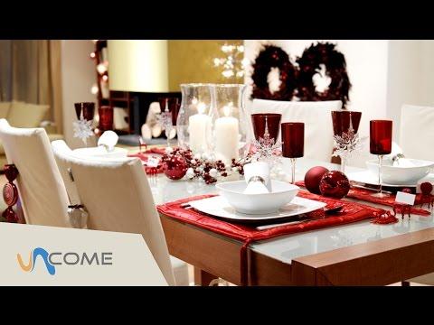 come decorare la tavola di natale!