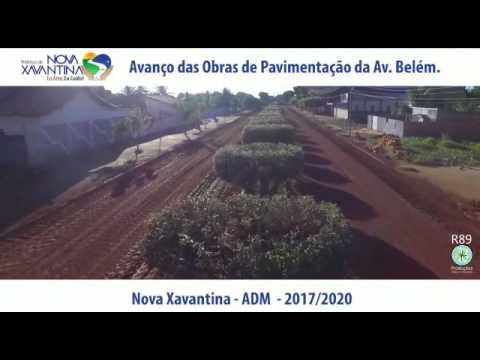 Pavimentação da Av. Belém