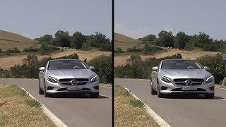 2015 Mercedes S-Class Coupé: Active Body Control demonstration