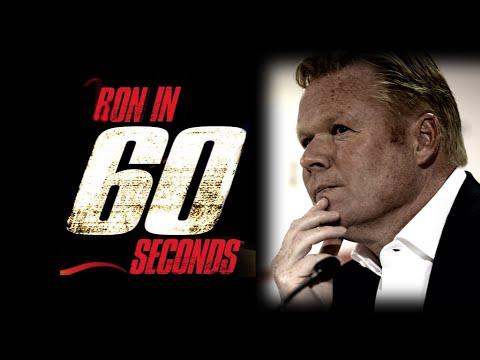 VIDEO: 'Ron in 60 seconds' met Ronald Koeman