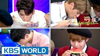 Video Wanna One, birth of new eating idol? Food commercials must be flooding in[Happy Together/2017.08.24] MP3, 3GP, MP4, WEBM, AVI, FLV Februari 2019
