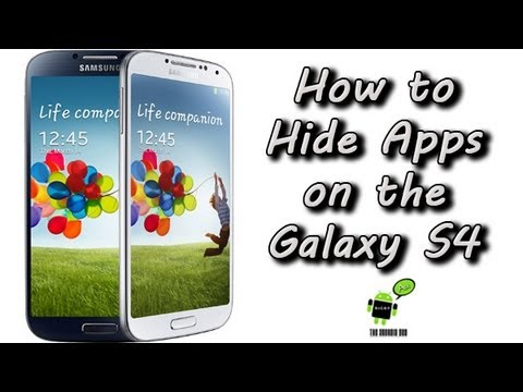 Descargar How to Hide Apps on the Samsung Galaxy S4 para Celular  #Android