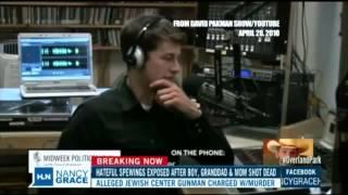 David Pakman On Nancy Grace's HLN Show: KS Shooting Suspect Glenn Miller Interview