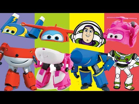 Wrong Masks Power Wings Buz The Toy Finger Family Song