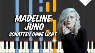 Schatten ohne Licht - Madeline Juno Piano Tutorial