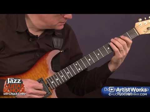Jazz Guitar Lessons: Constructing Arpeggios in the Dominant 7th