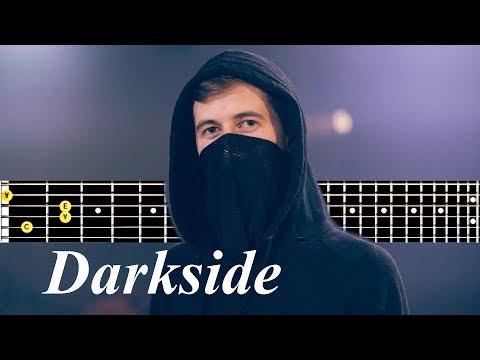 Download Alan Walker Darkside Guitar Tutorial Video 3GP Mp4 FLV HD