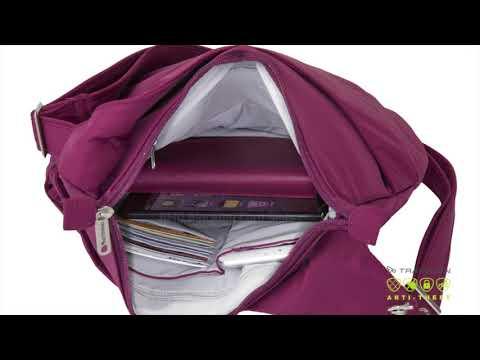 Anti-Theft Classic Light Drape Front Shoulder Bag Style  #42950