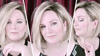 Video Wig Chat ~ MENA Wig Review ~ Jon Renau - Shaded Praline 12FS8 - How To Style MENA From Day To NIGHT MP3, 3GP, MP4, WEBM, AVI, FLV Juni 2018