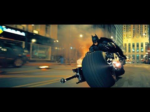 The dark knight batman entry with bike(hindi)