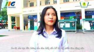 Cảm nhận của học sinh THPT Phan Huy Chú về chương trình học của IIG Academy