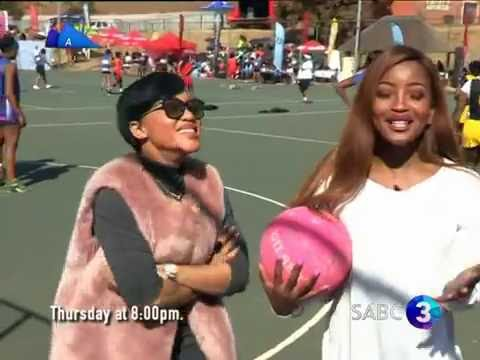 Thando Thabethe netball challenge