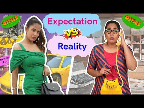 OFFICE - OFFICE | Expectations vs Reality | ShrutiArjunAnand