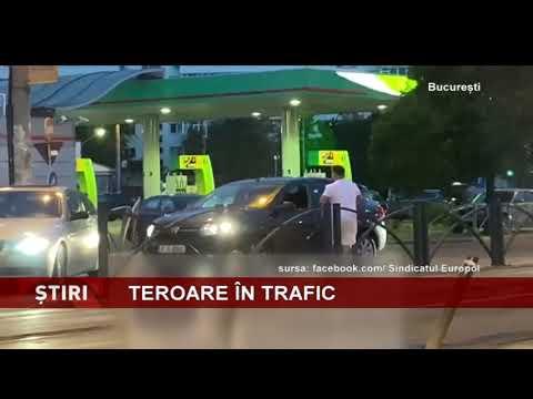 Șofer agresat în trafic, în București