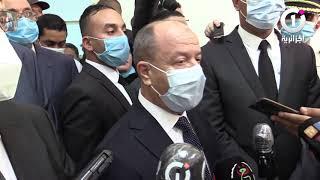 """وزير العدل #زغماتي من #وهران: """" يجب أن نهتم بظروف #المحبوسين.. ونفتخر بإنجاز هذه #المؤسسة_العقابية """""""