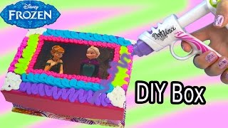 Queen Elsa Princess Anna Playdoh DohVinci DIY Disney Frozen Sticker Box Toy Play Doh Vinci Fun Craft - YouTube