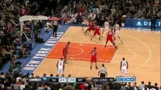 The Jeremy Lin Show Vs. New Jersey Nets (2/4/12)