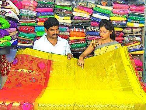 Latest Collection of Kanchi Pattu and Designer Sarees | Sogasu Chuda Tarama | Vanitha TV 17 November 2015 03 27 PM
