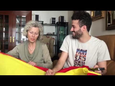 REACCIÓN | Así vivió mi madre la actuación de Manel Navarro en Eurovisión 2017