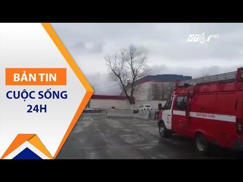 Nga: Sập mỏ vàng, 2 người thiệt mạng | VTC1 - Thời lượng: 44 giây.