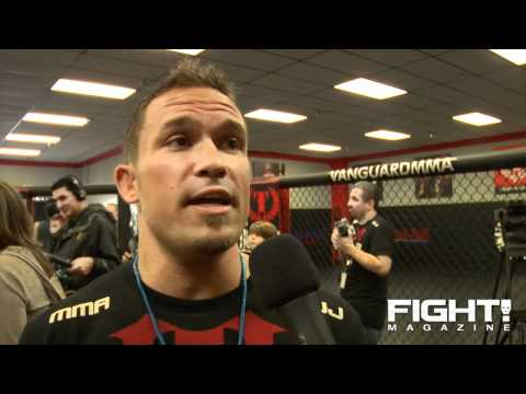 Razor Rob talks Upcoming Bellator 4 tells other fighters hes coming for the Belt