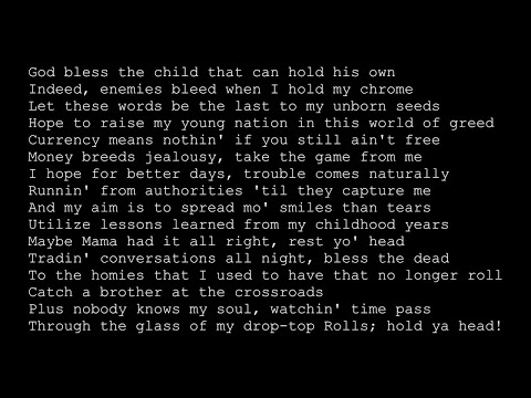 2Pac - Hold Ya Head (lyrics)
