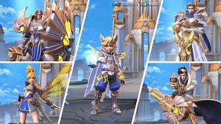 All Lightborn Squad Skins - Mobile Legends