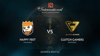 Happy Feet vs Clutch Gamers, The International 2017 SEA Qualifier