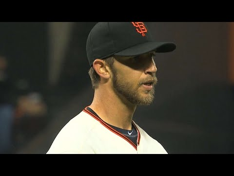 Video: Bumgarner shuts down Reds with one-hitter