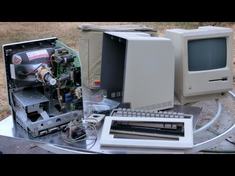 1984 Macintosh 128k restoration part 1: whitening the plastic