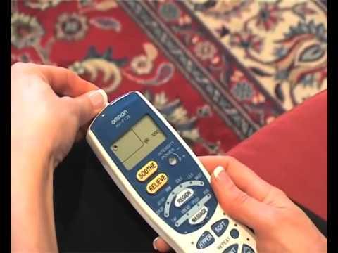 Cách sử dụng máy massage Omron HV-F127 & HV-F128