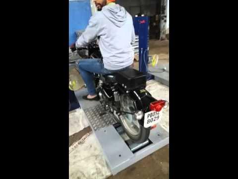 Matharu Multi Roller Test Bench (Model IMP-2)