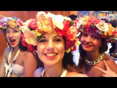 Spectacle de danses polynésiennes le 11 mars 2017