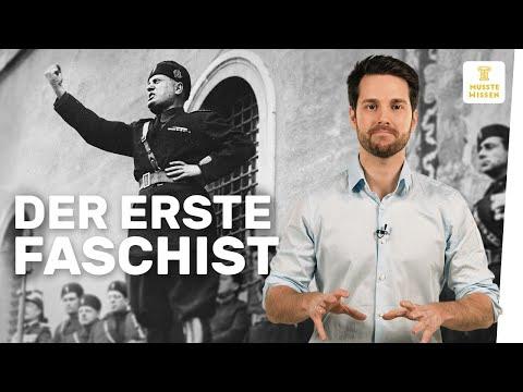 Mussolini - Begründer des Faschismus | Diktatoren | m ...