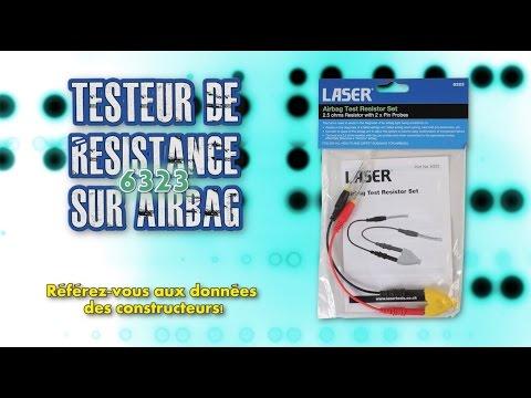 6323 | LaserTools Testeur de Résistance sur Airbag